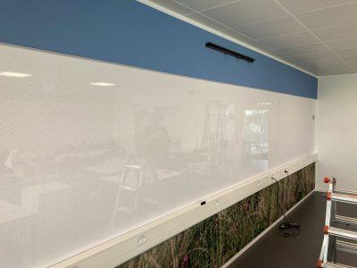 Whiteboard - væg til væg